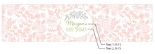 Load image into Gallery viewer, Personalized Water Bottle Labels - Rustic Baby Shower
