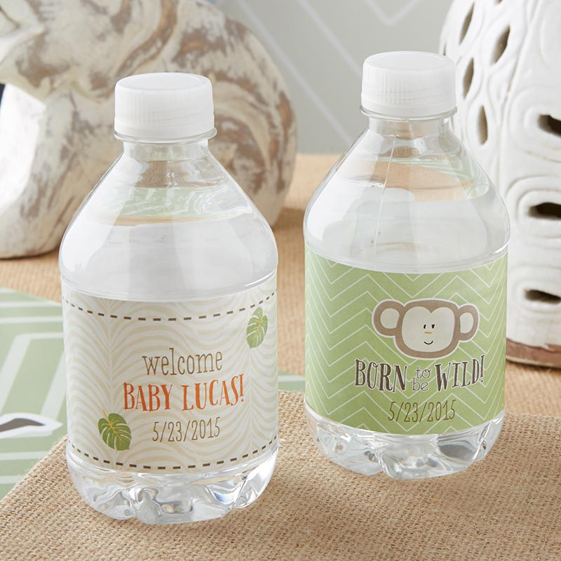 "Kate's ""Born to Be Wild"" Water Bottle Labels"