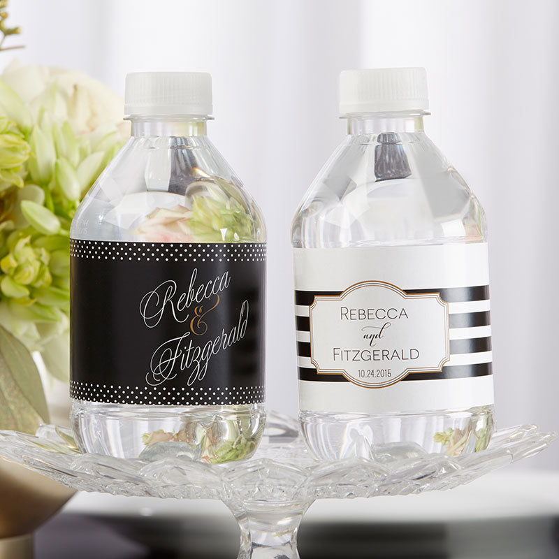 Personalized Water Bottle Labels - Classic