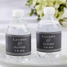 Load image into Gallery viewer, Personalized Water Bottle Labels - Chalk