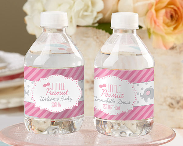 Personalized Water Bottle Labels - Little Peanut