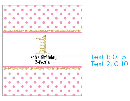 Personalized Lip Balm - Birthday (Set of 12)