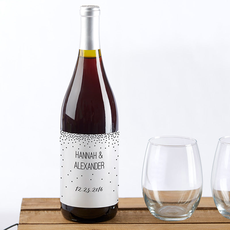 Personalized Wine Bottle Labels