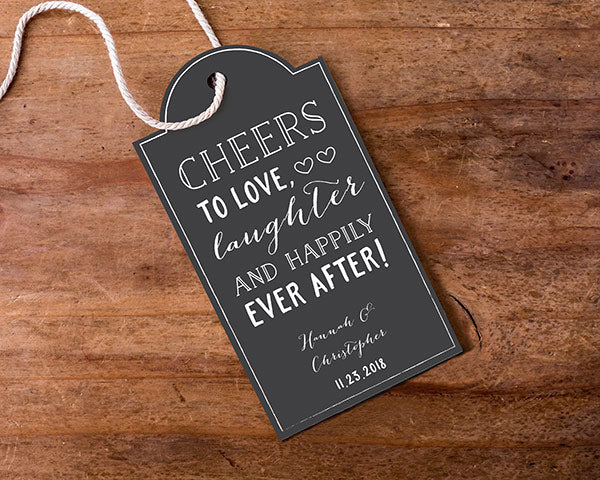 Load image into Gallery viewer, Personalized Statement Tags - Chalk (Set of 12)