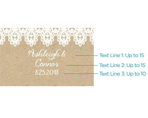Load image into Gallery viewer, Personalized Black Matchboxes - Rustic Charm Wedding (Set of 50)