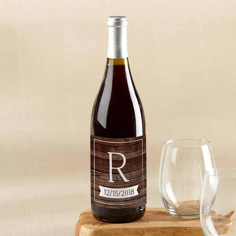 Load image into Gallery viewer, Personalized Wine Bottle Labels - Winter