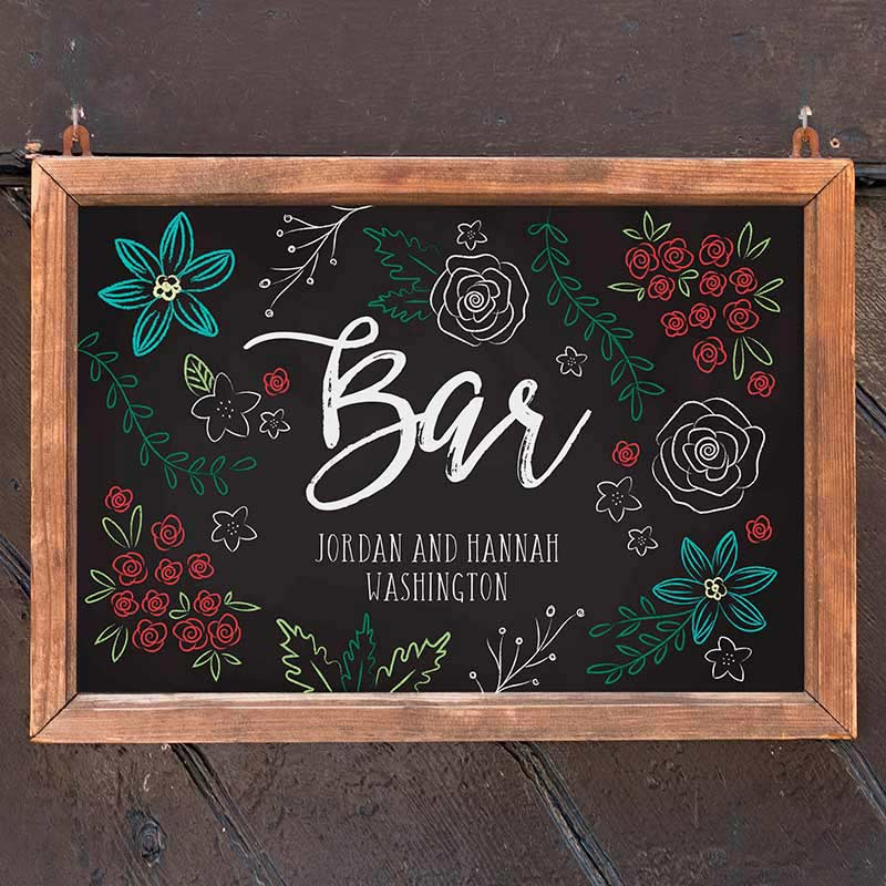 Personalized Sign (18x12) - Chalk