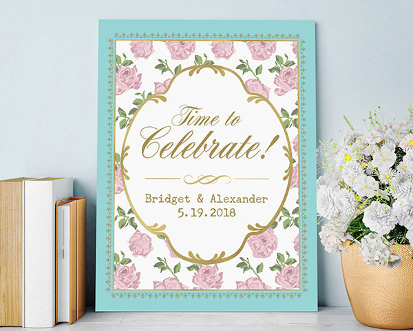 Personalized Poster (18x24) - Tea Time