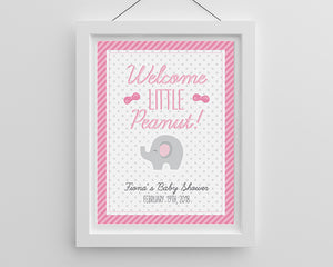 Personalized Poster (18x24) - Little Peanut