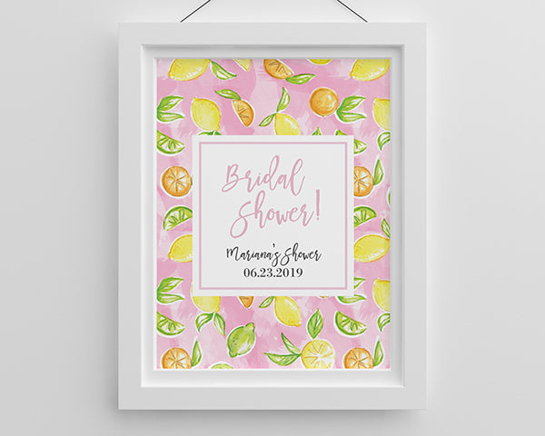 Personalized Poster (18x24) - Cheery & Chic