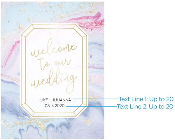 Load image into Gallery viewer, Personalized Poster (18x24) - Elements Wedding