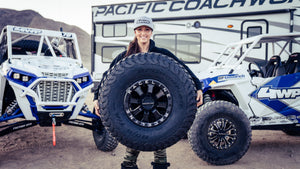 Sara Price has entered into a multi-year partnership agreement with BFGoodrich Tires