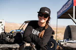 Offroad Champion Sara Price Launches her own Brand #BurnFuel