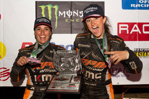 Sara Price first-ever podium finish in the SCORE International Offroad series