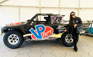 Sara Price Set to Race the VP Racing Lubricants Truck in Stadium Super Truck series at the Adelaide, Australia