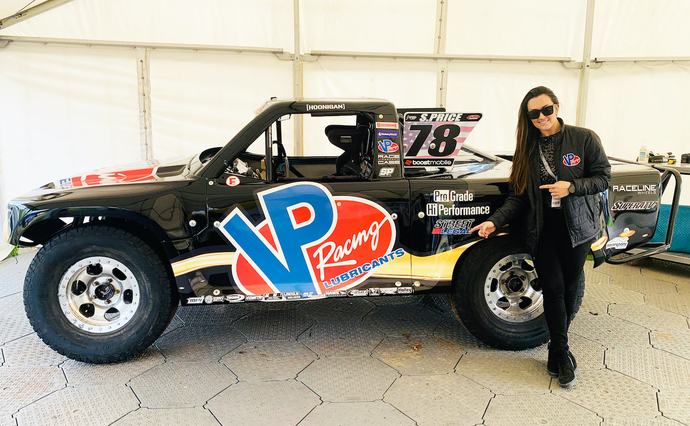 Baja Champion Sara Price Set to Race the VP Racing Lubricants Truck in Opening Round of the Boost Mobile Stadium Super Truck series at the Adelaide 500 in Australia