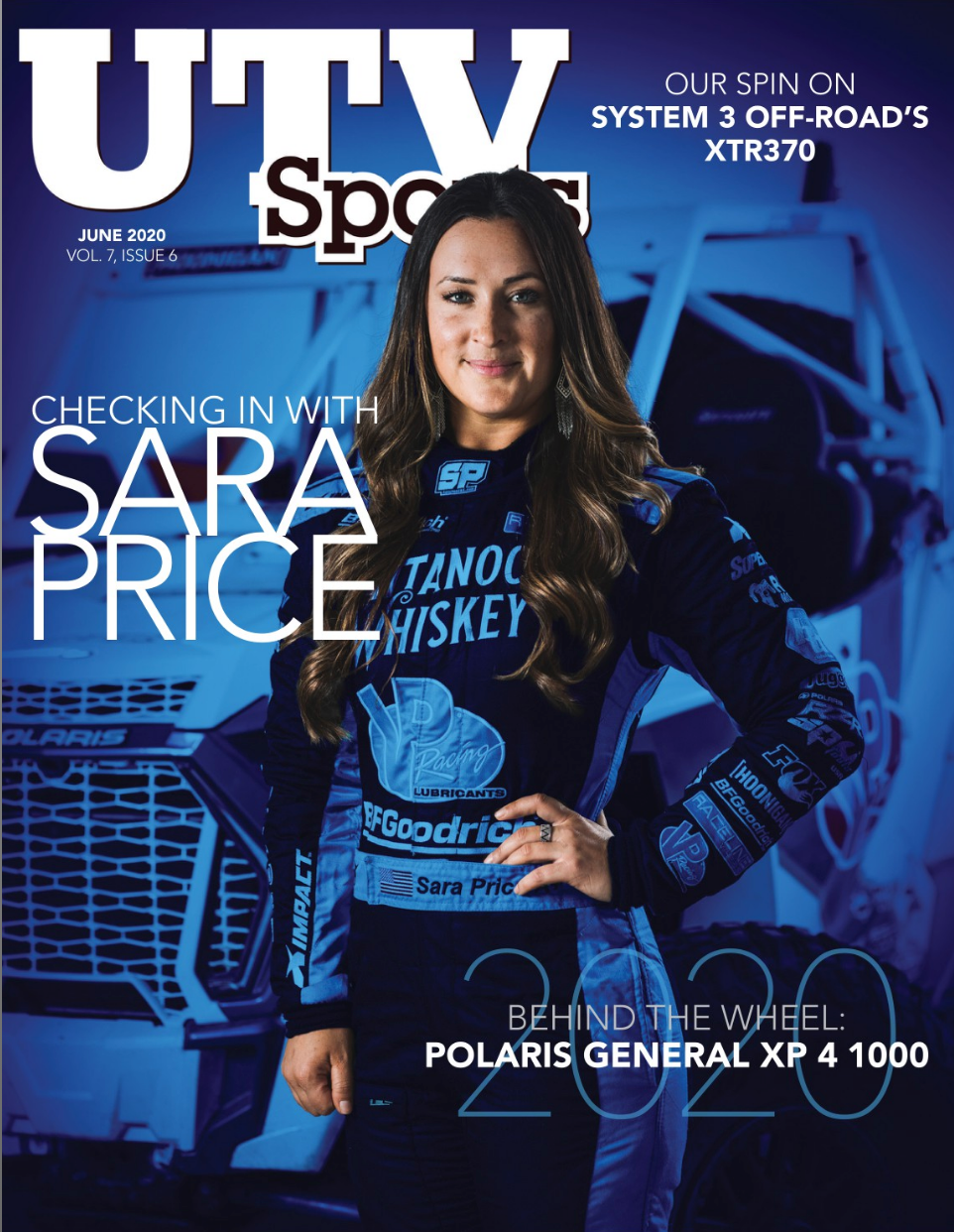 Sara Price Featured on Cover of June UTV Sports Magazine