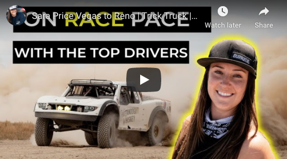Sara Price Vegas to Reno | Trick Truck | Battling it Out with Top Drivers