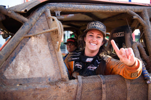 Sara Price Makes History by Winning SCORE International Trophy Truck Spec