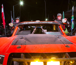 Sara Price officially completed her first ever SCORE International BAJA 500