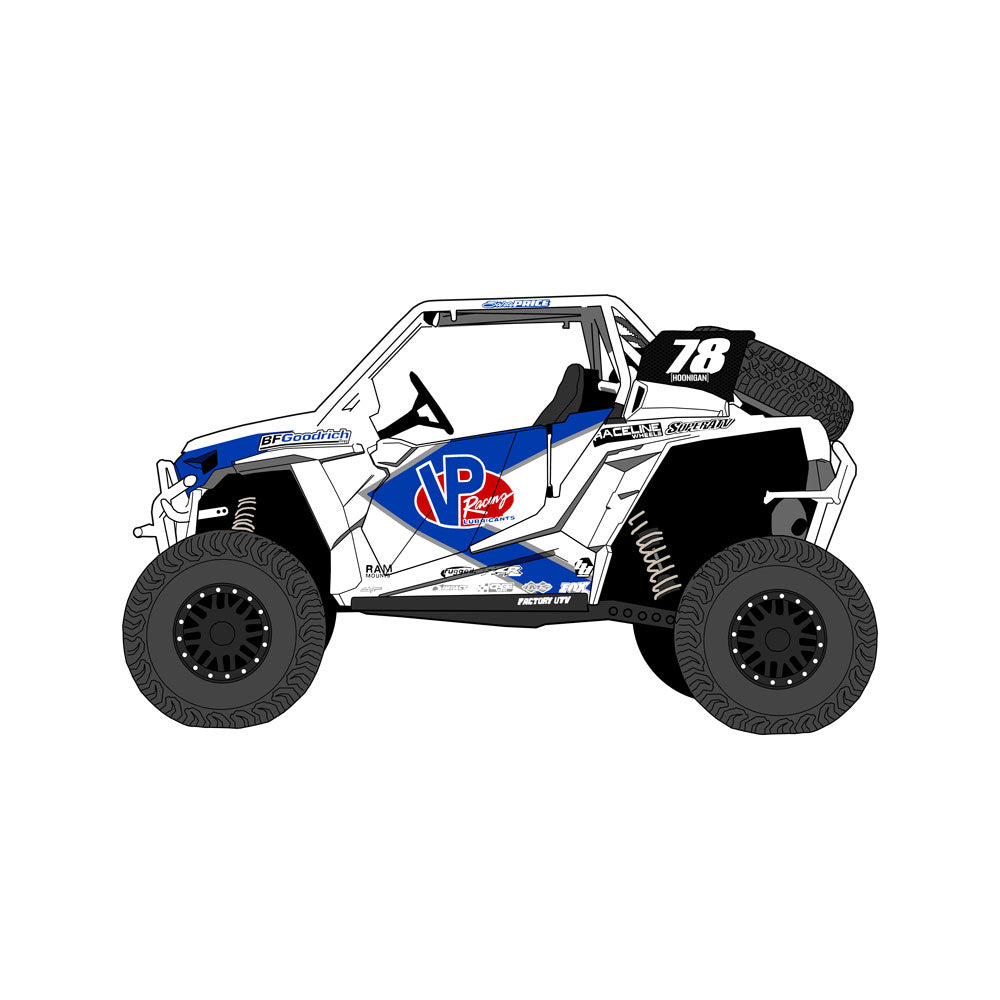 Sara Price RZR UTV Sticker