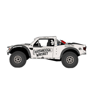 Sara Price Trophy Truck Sticker