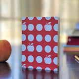 Apple Dot greeting card on desk