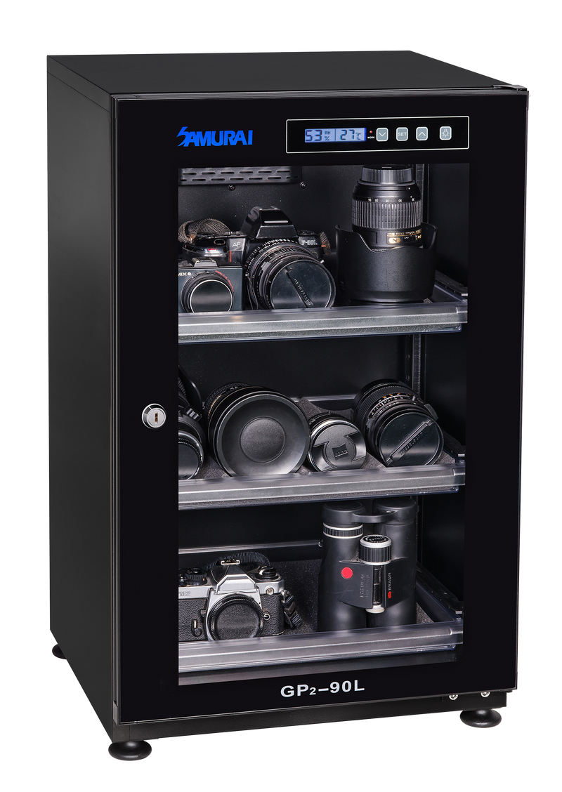 Samurai Digital GP2-90L Dry Cabinet (5 Years Warranty)