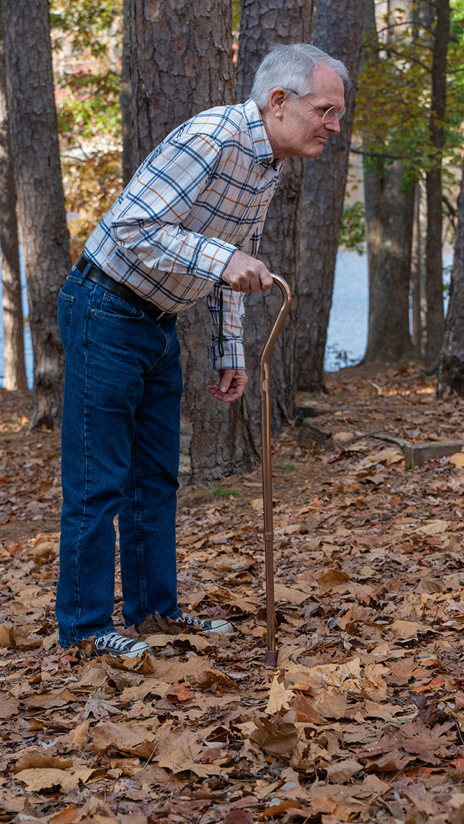 Wellpro Walking Stick - Bastón plegable y ajustable con luz integrada