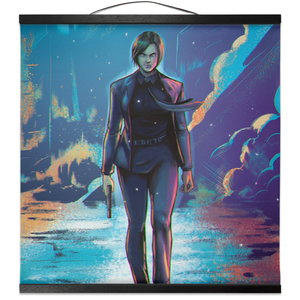 Adobe Wick Cosplay Wall Scroll