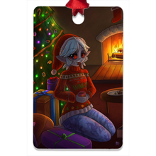 Load image into Gallery viewer, Changeling Metal Christmas Ornament