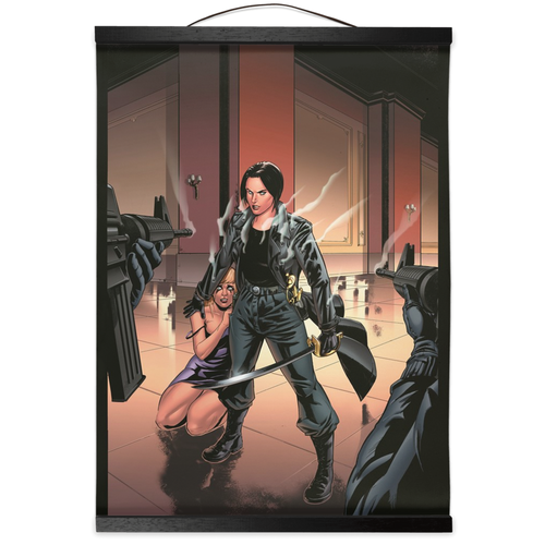 Adobe Kroger: Dame Commander #1  Cover art Wall Scroll