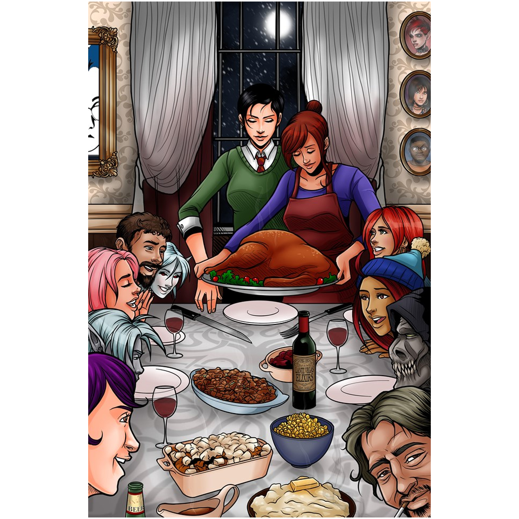 A Mythoverse Thanksgiving Giclee Art Prints