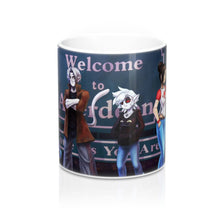 Load image into Gallery viewer, Changeling: An Urban Fairy Tale Cast Wrap Around Mug 11oz