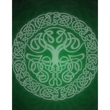Load image into Gallery viewer, Mythoverse Tree Minky Blanket