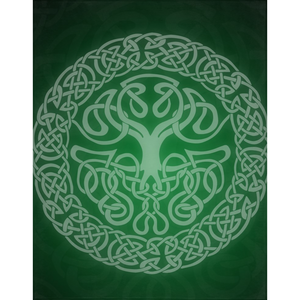 Mythoverse Tree Minky Blanket