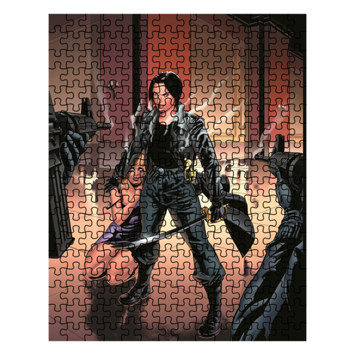 Adobe Kroger Dame Commander #1 cover art Puzzle