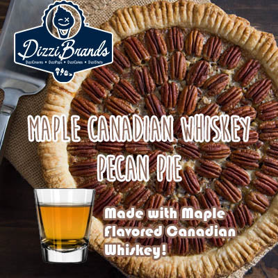 Maple Canadian Whiskey Pecan Pie