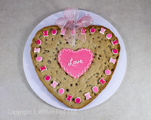 Recipe for a Giant Valentine Cookie