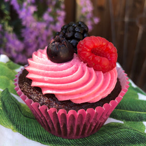 BERRY DELICIOUS CUPCAKES