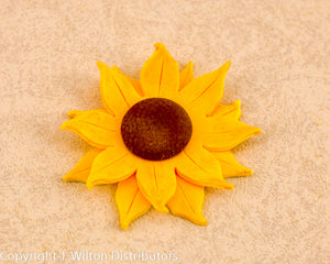 "SUNFLOWER 3"" 1PC YELLOW"