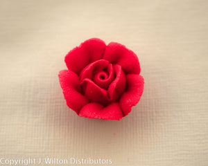 "ROSE 1"" 32PC RED"