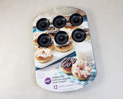PAN MEDIUM DOUGHNUT 12 CAVITY