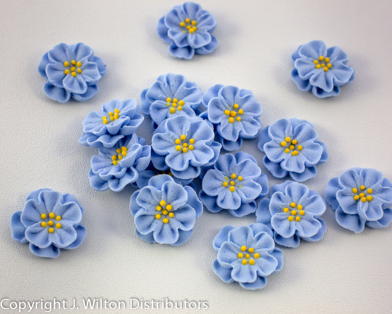 DAINTY BESS ROYAL SMALL 40PC PASTEL BLUE