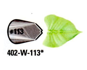 WILTON PIPING TIPS LEAF