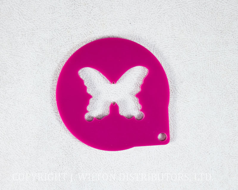 CAKE STENCIL BUTTERFLY 1pc.