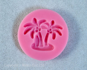 SILICONE MOLD COCONUT/PALM TREE