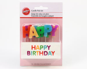 "CANDLE PICKS ""HAPPY BIRTHDAY"""