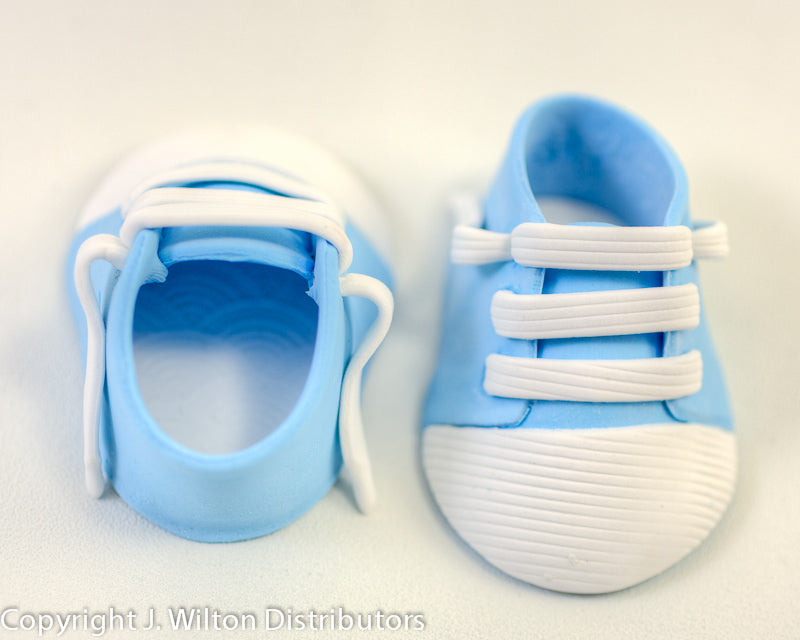 BABY SHOE -SPORTY- 2PC BLUE