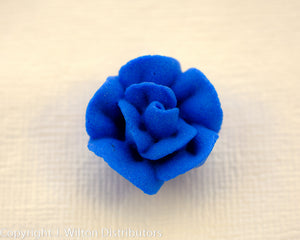 "ROSE 3/4"" 66PC ROYAL BLUE"
